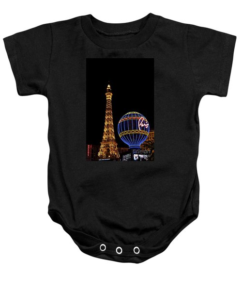 Paris In Vegas Baby Onesie