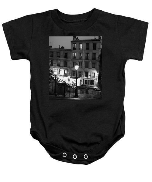 Paris-steps-montmartre Baby Onesie