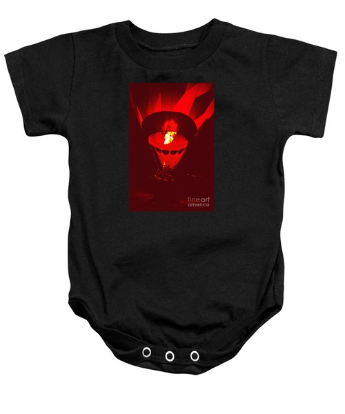 Passion's Flame Baby Onesie