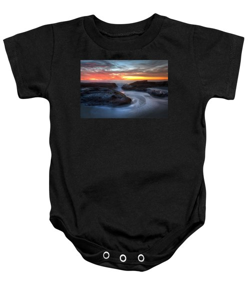 Path To The Sea Baby Onesie