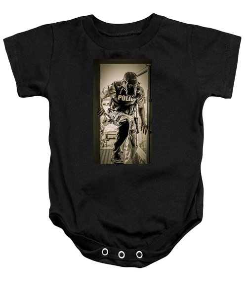 Patriot3 Second Floor Entry Baby Onesie
