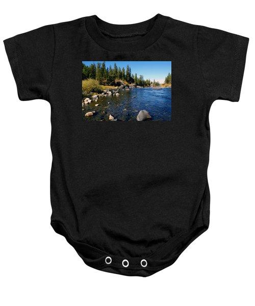 Peace On The Spokane River 2 Baby Onesie