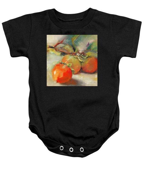 Persimmons Baby Onesie