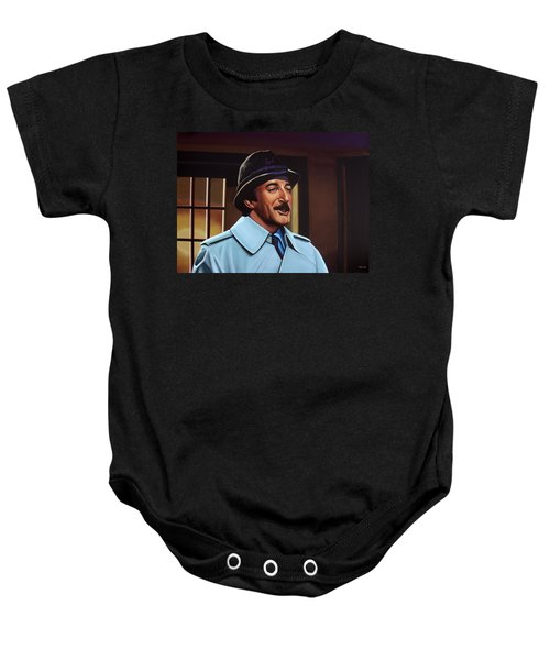 Peter Sellers As Inspector Clouseau  Baby Onesie
