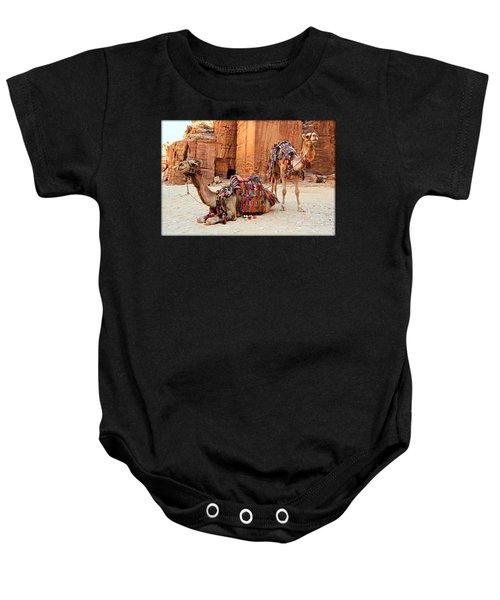 Petra Camels Baby Onesie