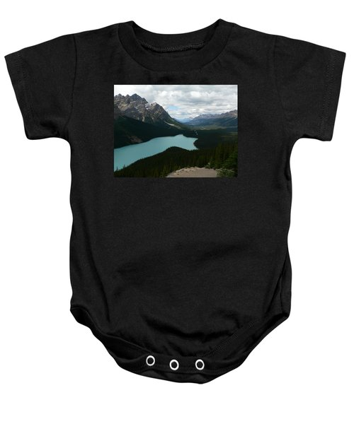 Peyote Lake In Banff Alberta Baby Onesie