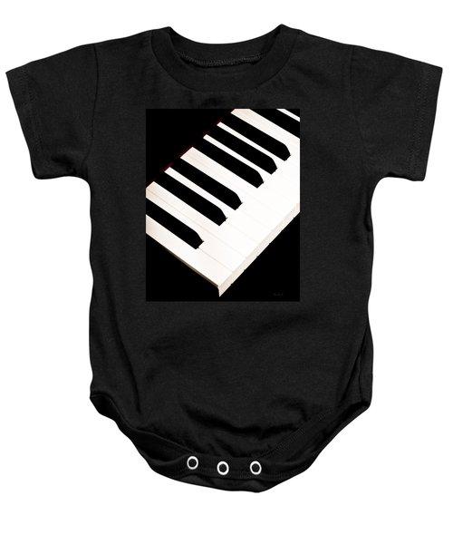 Piano Baby Onesie