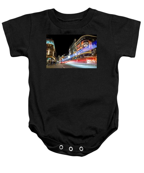A Night In The West End Baby Onesie