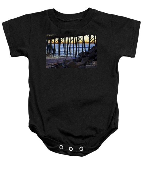 Pier Through  Baby Onesie