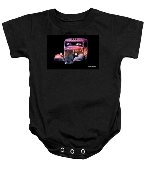 Pin Up Cars - #3 Baby Onesie