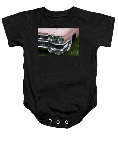 Pink Caddy Baby Onesie