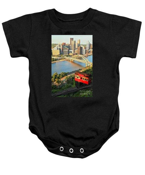 Pittsburgh Duquesne Incline Baby Onesie