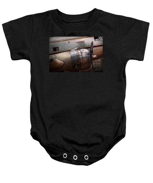Plane - A Little Rough Around The Edges Baby Onesie