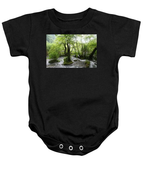 Plitvice Lakes Baby Onesie