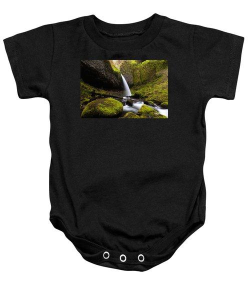Ponytail Falls Baby Onesie