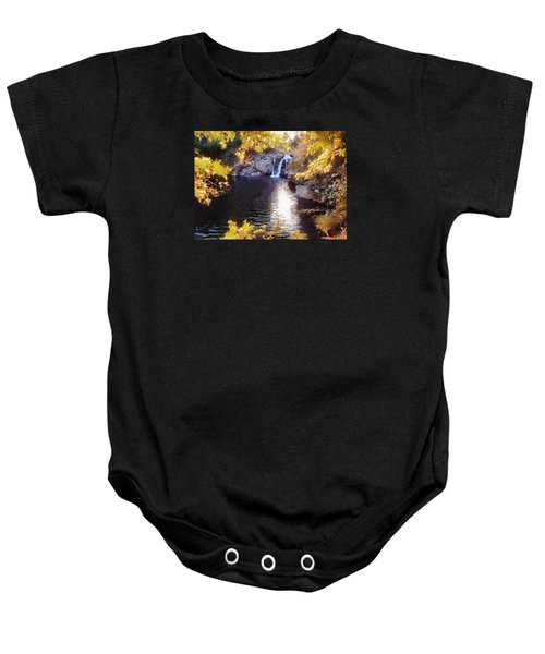 Pool And Falls Baby Onesie