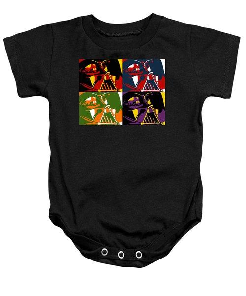 Pop Art Vader Baby Onesie