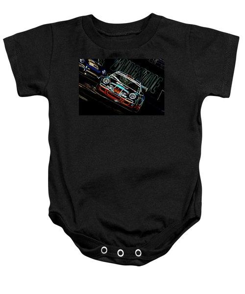 Porsche 911 Racing Baby Onesie