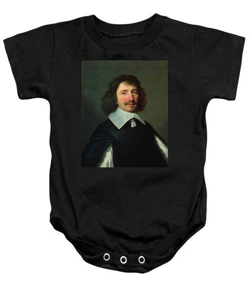 Portrait Of Vincent Voiture 1597-1648 C.1643-44 Oil On Canvas Baby Onesie