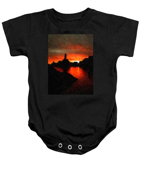 Powell Sunset Baby Onesie