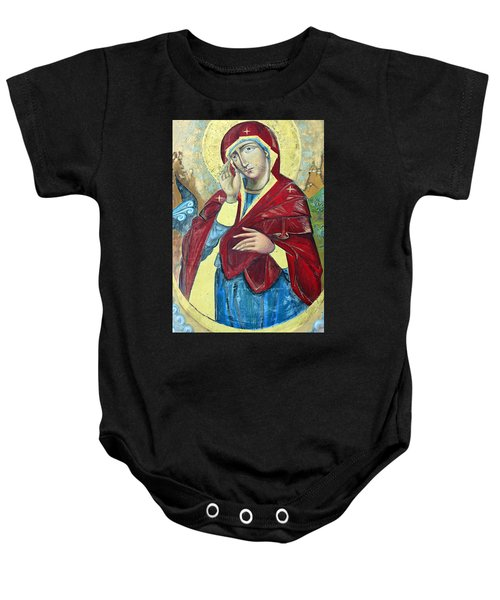 Praying For Peace Baby Onesie