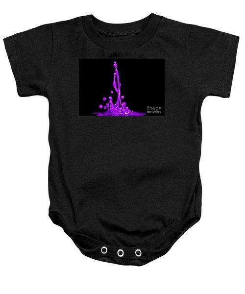 Purple Nurple Baby Onesie