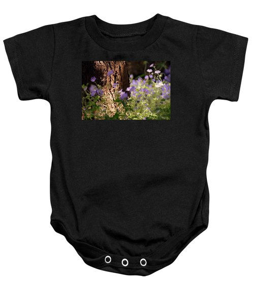 Purple Splash Baby Onesie