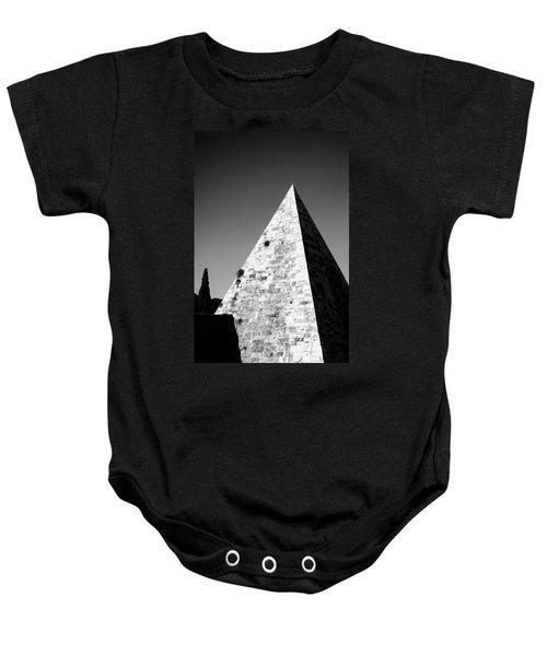 Pyramid Of Cestius Baby Onesie
