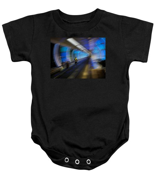 Baby Onesie featuring the photograph Quantum Tunneling by Alex Lapidus