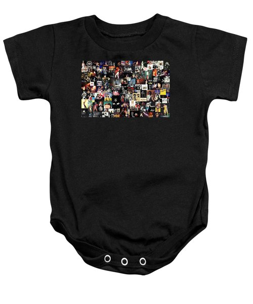 Queen Collage Baby Onesie
