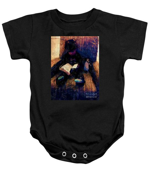 Quiet Time Baby Onesie