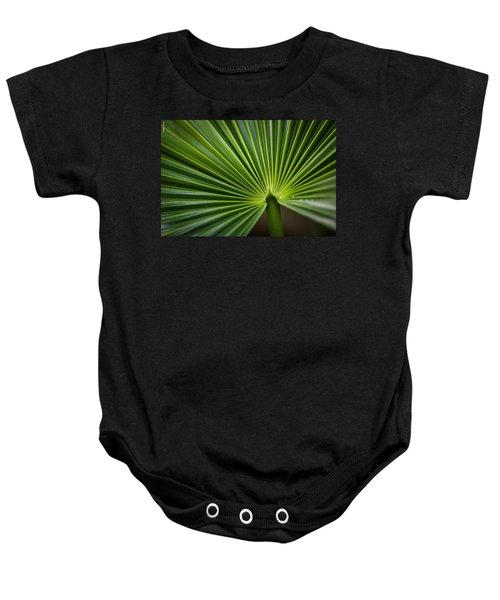Radial Greens Baby Onesie