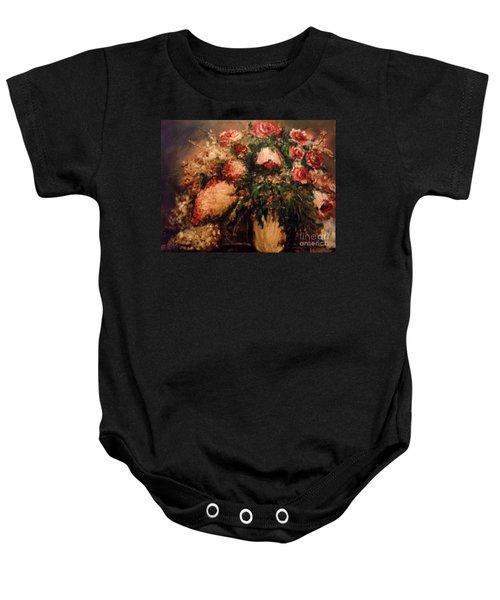 Raspberry Jammies Baby Onesie