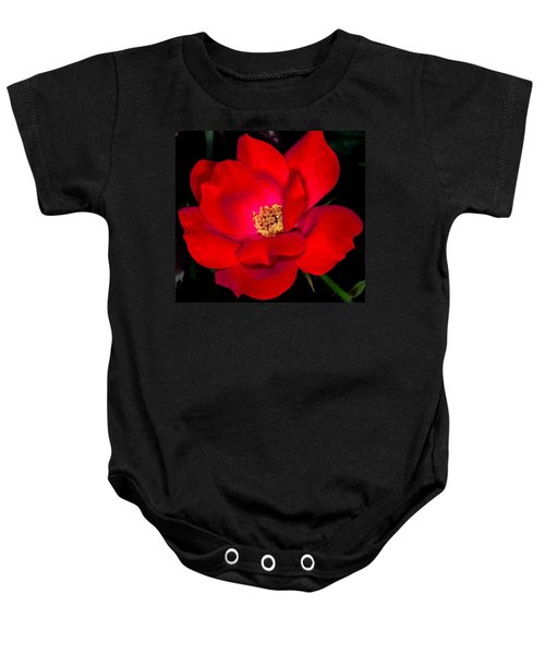 Real Red Baby Onesie