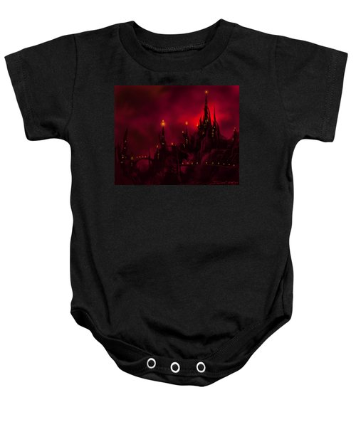 Red Castle Baby Onesie