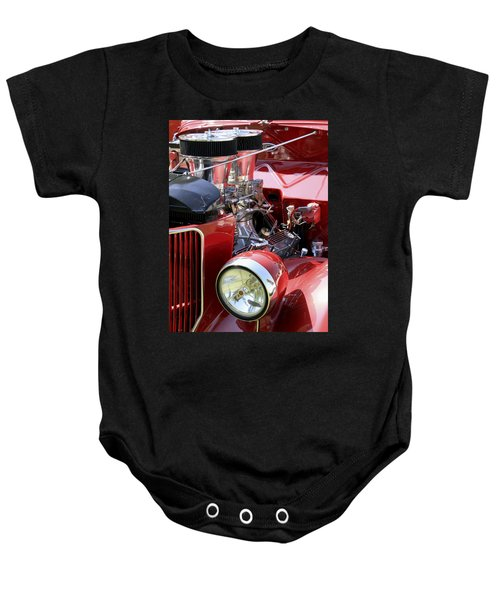 Red Ford Baby Onesie