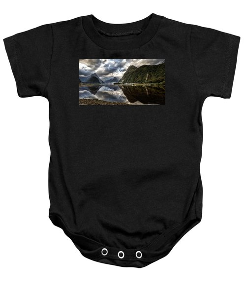 Reflecting On Milford Baby Onesie