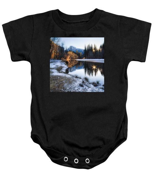 Baby Onesie featuring the photograph Reflections by Vincent Bonafede