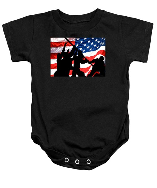Remembering World War II Baby Onesie by Bob Orsillo