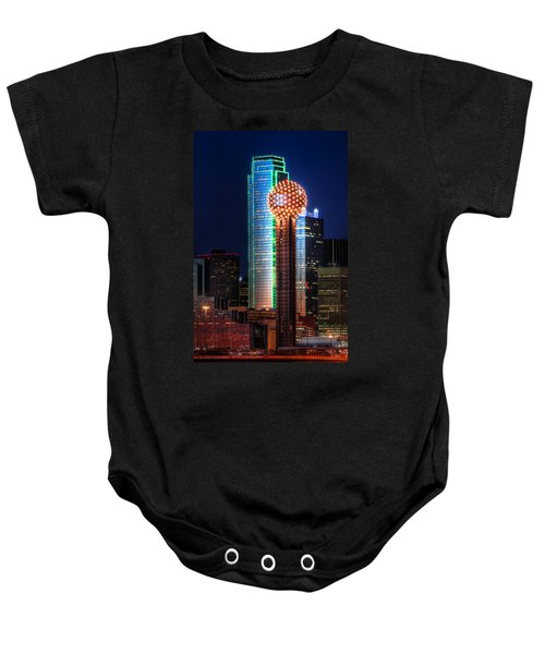 Reunion Tower Baby Onesie
