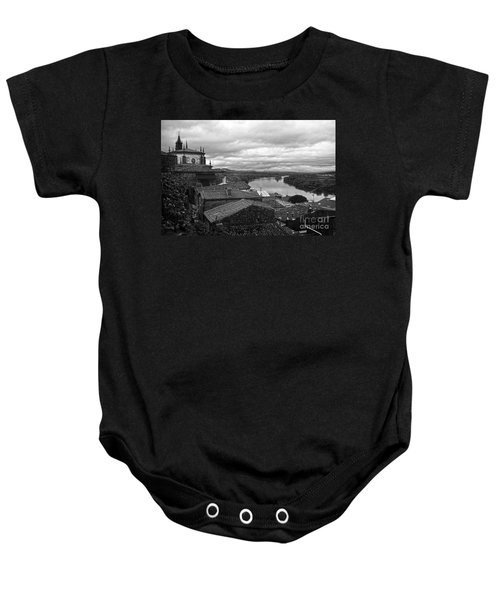 River Mino And Portugal From Tui Bw Baby Onesie