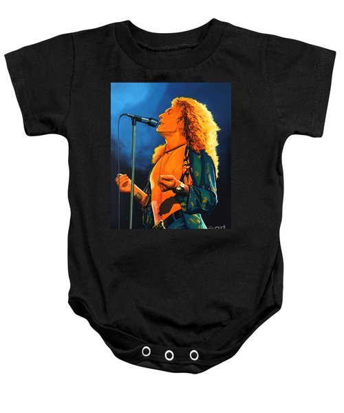 Robert Plant Baby Onesie by Paul Meijering
