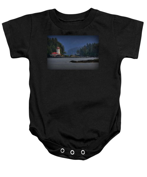 Rockwell Lighthouse Sitka Alaska Baby Onesie