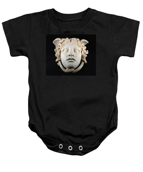 Rondanini Medusa, Copy Of A 5th Century Bc Greek Marble Original, Roman Plaster Baby Onesie