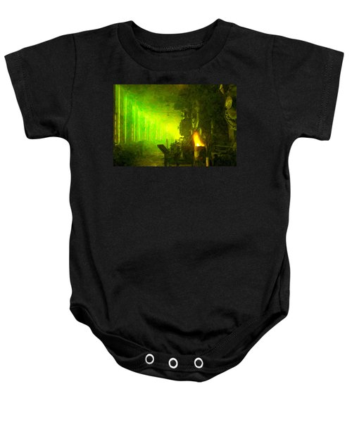 Roundhouse Morning Baby Onesie