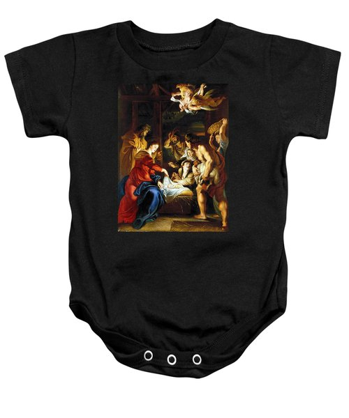 Rubens Adoration Baby Onesie