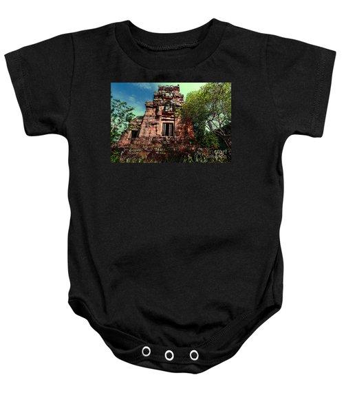 Ruin At Angkor Baby Onesie