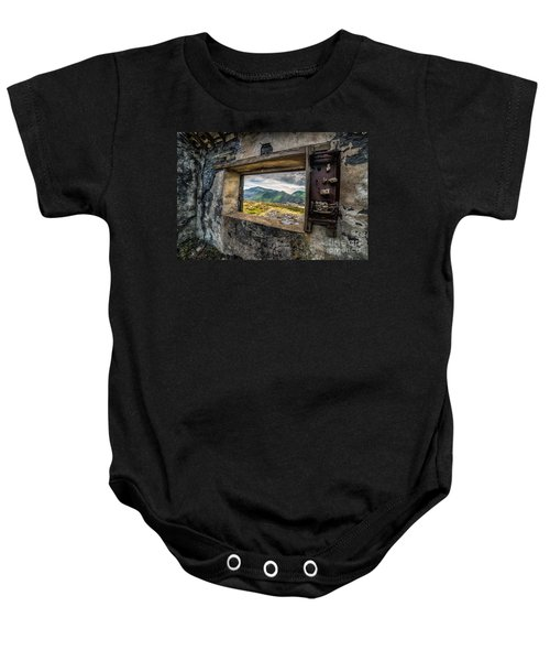Ruin With A View  Baby Onesie