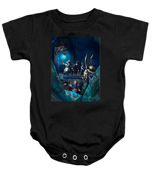 Sacred Burial Chamber Baby Onesie