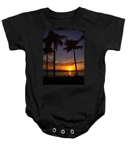 Sanibel Island Sunset Baby Onesie